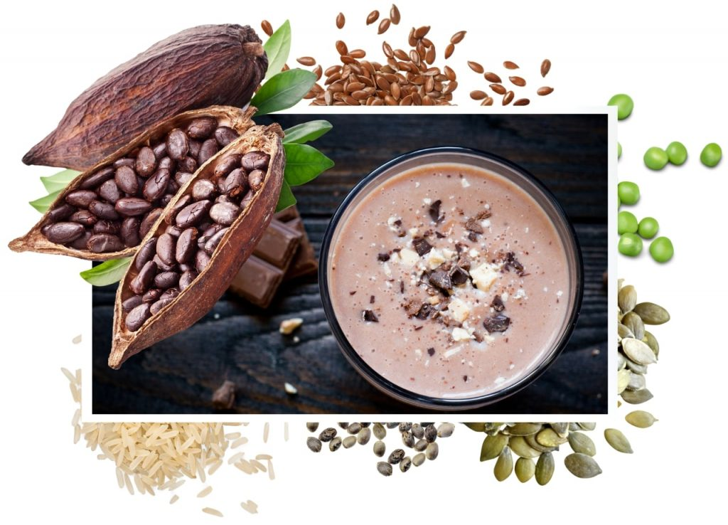 Vegan Protein Kakao - Veganes Proteinpulver Schokolade Vetain